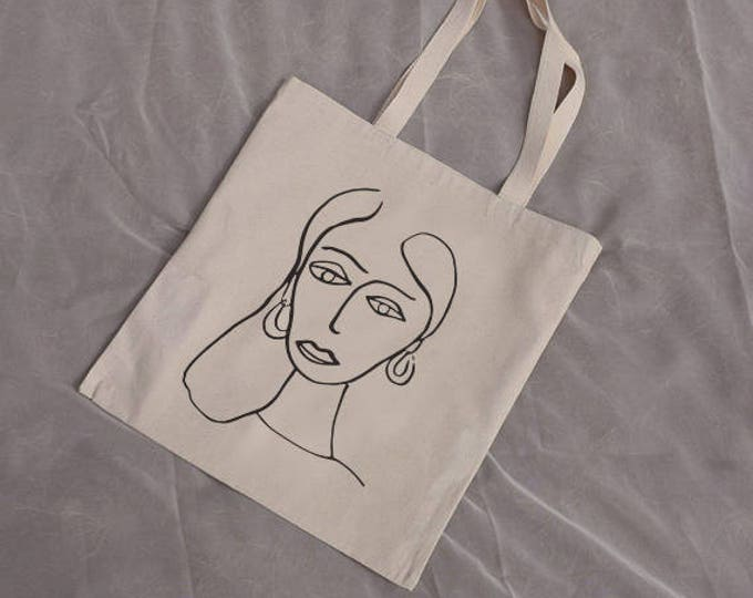Paola Cotton Canvas Tote Bag |  Multiple Color Options