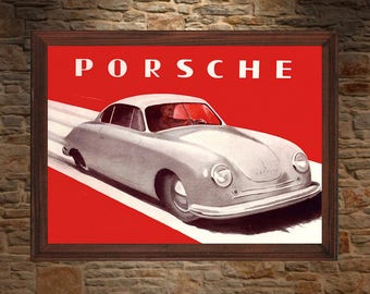 Porsche 356 Ad 1950s