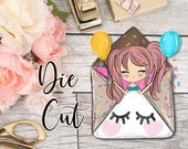 Die Cut- Cute Dolls- Yay!, Happy Mail