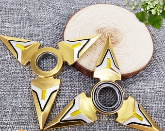 Ninja Throwing Star with Fidget Spinner Function Metal