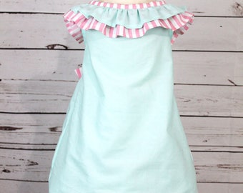 White long frilly cowgirl dress