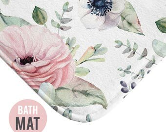 Succulent Bath Mat - Available in Two Sizes