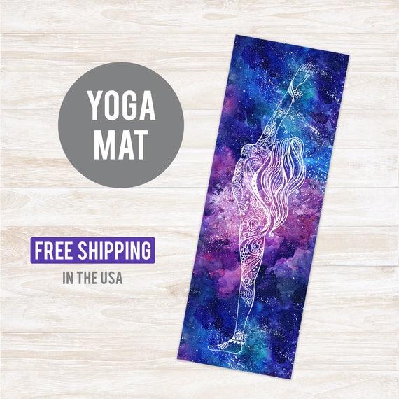 Yoga Mat Galaxy Pattern - Free Shipping