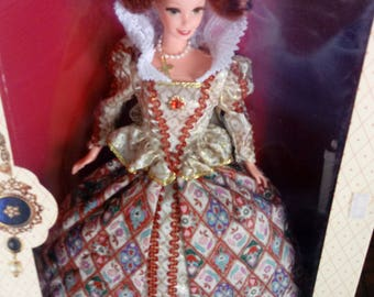The Great Eras/ Collector Edition/ Elizabethan Queen/ Barbie Doll/ New In Box