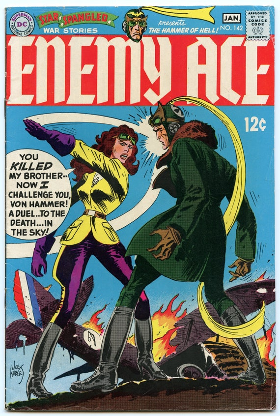 Star Spangled War Stories 142 Jan 1969 VG+ (4.5)