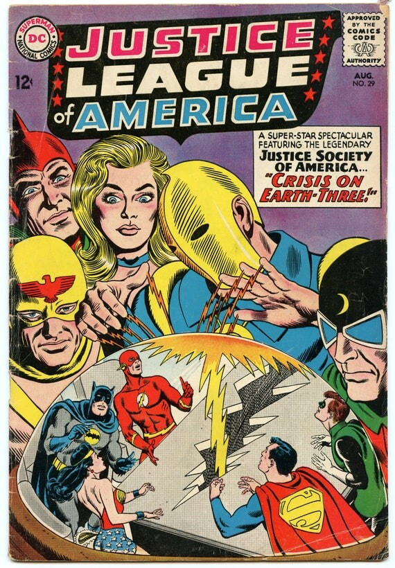 Justice League of America 29 Aug 1964 VG+ (4.5)