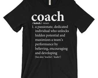 Coach Gift | Shirt from Team | Assistant Coach's Gift | Basketball Coach, Soccer Coach, Football Coach, Baseball Coach, Softball Coaches