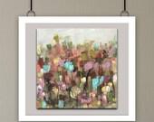 Wood wall art, giclee print, fine art print, Flower art, flower print, abstract art print, woodscape art, reclaimed wood art,