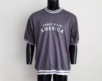 Vintage Perry Ellis Short Sleeve Sz. M