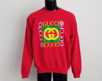 Vintage Gucci Crewneck Sweatshirt Sz. XXL