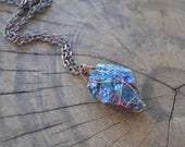 Peacock Ore Copper Necklace // Chalcopyrite // Healing Stone Necklace // Removes Negative Energy // Intuition // Positive Energy