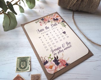 Floral Drea Save the Date - SAMPLE