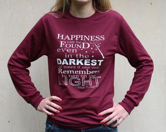 Harry Potter Shirt | Harry Potter Long Sleeve | Harry Potter Sweatshirt | Albus Dumbledore Shirt | Harry Potter Hoodie