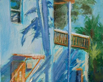 Landscape, Oil Painting, Original Painting, Oil Paintings, Original Paintings, Oil on Canvas, Florida Keys, Small, Plein Air, Sue Whitney