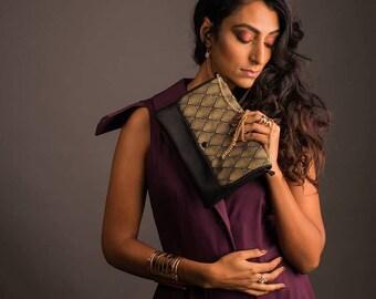 Bag / pouch GOLD flap
