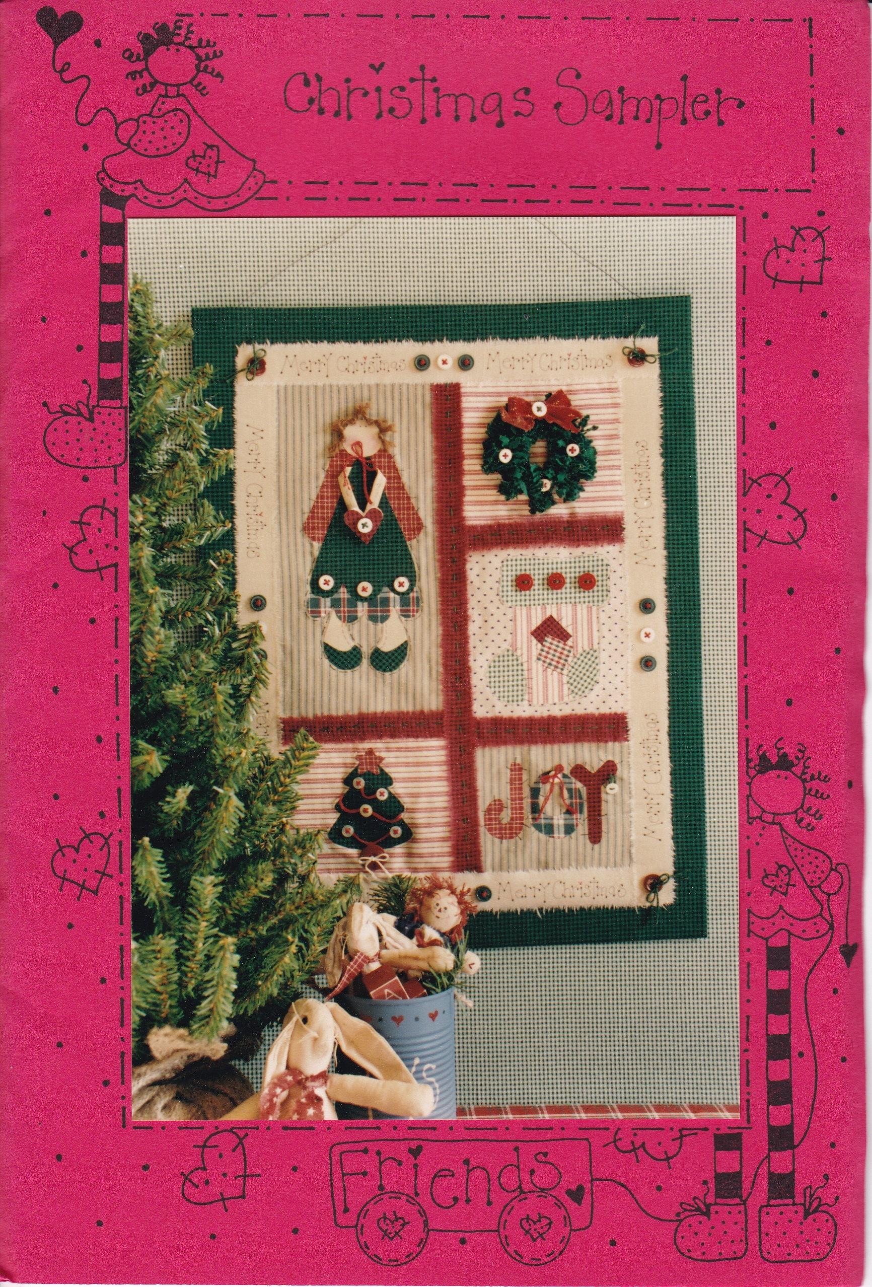 FREE US SHIP Craft Sewing Pattern Christmas Sampler Raggedy Ann ... : raggedy ann quilt pattern - Adamdwight.com