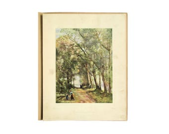 E A Owen Publishing Instructor Picture Study Series # 28 Road Through Trees 1926