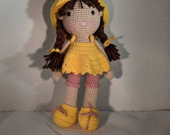Amigurumi Girl Doll