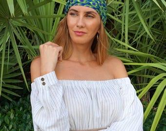 Yoga Headband / Workout Headband / Running Headband / Womens Headbands / Wide Headband / Yoga Head Wrap / Boho Headband / Hippie Headband