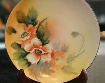 Vintage Floral Made in Japan Plate Chikaramachi