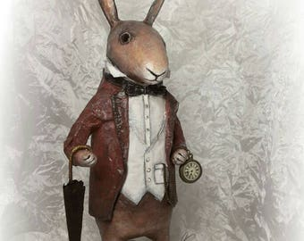 Rabbit.  rabbit Alice in Wonderland