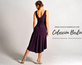 CARLA violet tango dress, XS-M