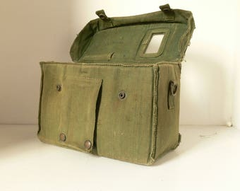 Vintage Army World War 2 / WW2? Camera or Equipment Case - Ideal For Collector Or Reenactment