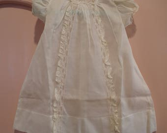 Vintage Baby Christening Gown Baby Baptism Gown Baby Dress Christening Dress Baptism Dress Antique Baby Dress Lace Baby Dress