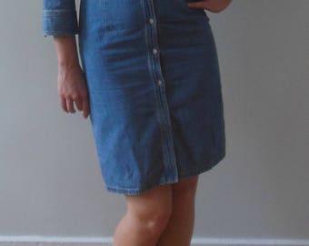 Polo Jeans Company Ralph Lauren Perfect Denim Shirt Dress Size 6