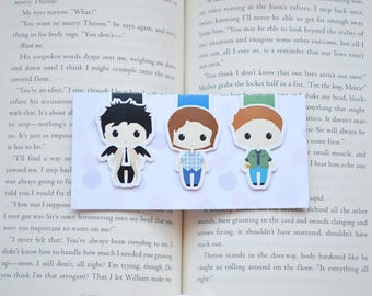 Supernatural magnetic bookmark