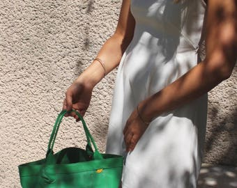 the green square bag