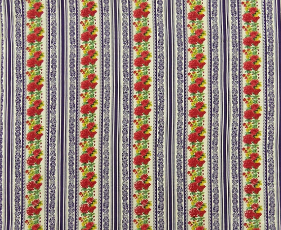 Home Decor Fabrics By The Yard: Home Decor Fabric, Floral Print, Beige Fabric, Apparel
