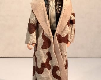Star Wars (ROTJ) Han Solo (in Trench Coat) - Vintage Kenner 1984