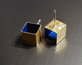 SALE! Blue box studs