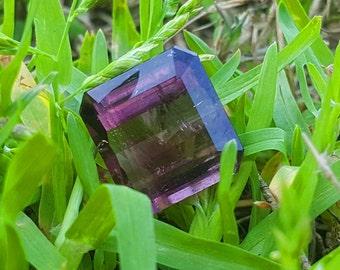 WOW 7.50 Carats Beautiful Purple Color Loose Gemstone Tourmaline@Afghanistan 12.11.6mm