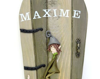 Personalized door saying. invite fairies to enter your home!
