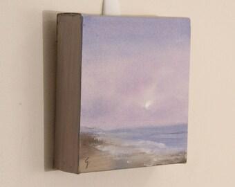 Original Ocean Oil Painting, Sunrise Painting, Coastal Landscape, Realism, Ocean Waves, Seascape, Ocean Scene, Fine Art