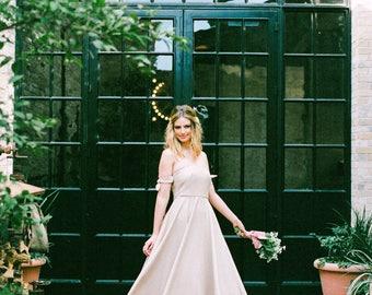 Circle Skirt Dress - Midi Length