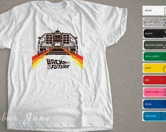 Back To The Future Movie T-shirt, 80s Poster Shirt
