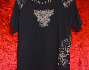 Vintage Machine Head All Over Lucifer devil death metal t-shirt