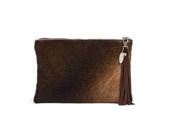 Hair on Hide Purse | Cowhide Purse | Cow hide Purse | Mini Clutch Bag