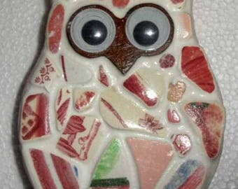 Georgeous Little Pottery Owl