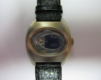 Vintage digital mecanic watch pager swiss made