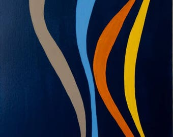 Modern Art, Minimal Art, Abstract Art, Original Art, Original Abstract Art