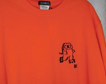 Godzilla KUMI embroidered T-shirt