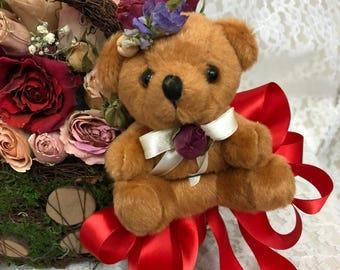 Everlasting Dried Flowers\Dried Arrangement\Flor\Floral\Roses\Rose\Design\Red Rose\Center\Art Floral\Dried Arrangement\Forever\Everlasting\