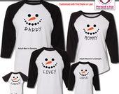 Holiday Shirts Snowman De...
