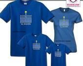 Holiday Shirts Menorah De...