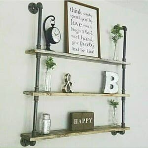 larger shelving unit industrial pipe shelving lots of options to make it your own
