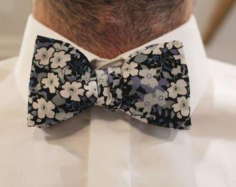 Japanese floral bowtie